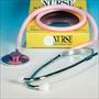 Stethoscoop Nurse Met Gele Slang