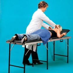 Massagetafel, koffermodel 3-delig 70cm breed