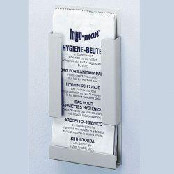 Ingo-man® houder voor hygiëne afvalzakjes 130 x 275 x 30 mm