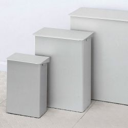 Ingo-Man® afvalbak voor toiletten en patiëntenkamers 215 x 300 x 155 mm - 6 liter