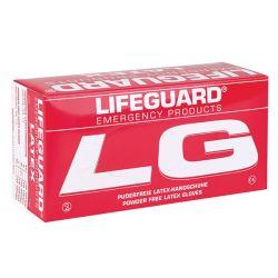 Lifeguard Handschoenen Latex Poedervrij XS - 100 Stuks
