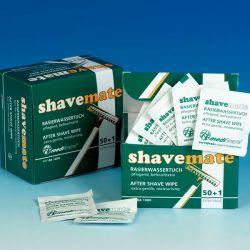 Mediware Shave Mate Aftershavedoekje 50   1 St