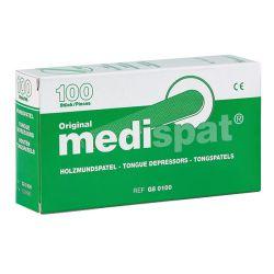 Medispat Clean Houten Tongspatels 100 St - onsteriel
