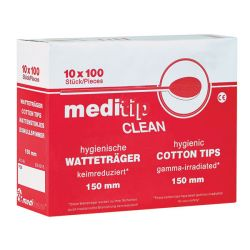 Meditip Clean Wattenstaafjes  150 mm -  1000 St