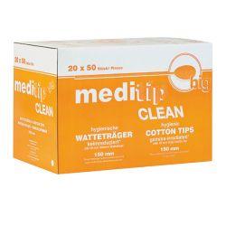 Meditip Clean Wattenstaafjes - groot -  200 mm 750 St