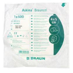 Askina Brauncel cellulose pads B.Braun 4 x 5 cm, niet-steriel - 16 rollen