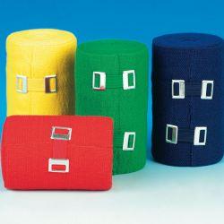 servosport Kleur bandages 6 cm x 5 m Rood per stuk