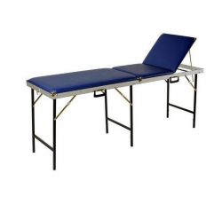 Massagebank MSP opklapbaar 3-delig 70 cm incl beschermhoes