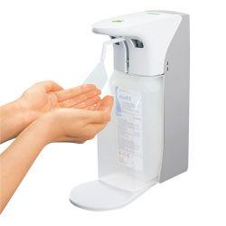 Zeep Desinfectiedispenser met sensor en Lekbakje, geschikt voor 500-1000ml Flessen