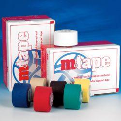 M-Tape Wit 10m x 3,75cm Verp. 12 stuks
